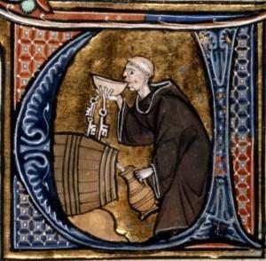 mnich winnica
