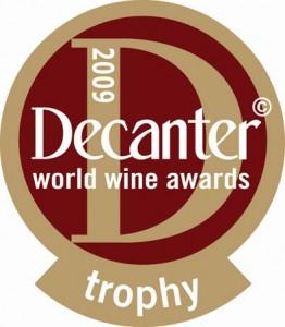 Decanter award