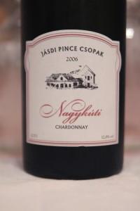 Jasdi Pince Csopak Chardonnay 2006