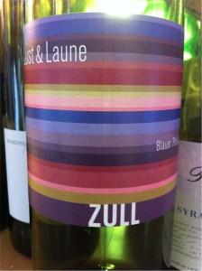 5. Lust & Laune, ZULL, Blauer Portugieser, Weinland Österreich, 2010, 12%