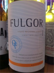 6. Fulgor, Vinho Regional Lisboa, 2009, 13,5%