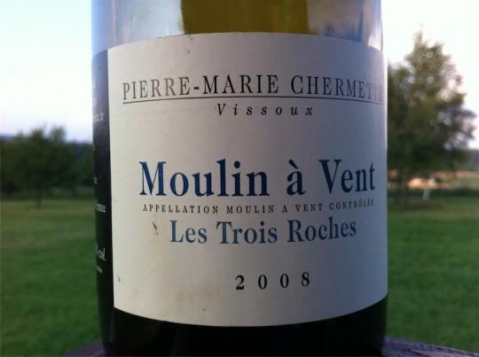 Pierre-Marie Chermette Vissoux Moulin a Vent Les Trois Roches 2008
