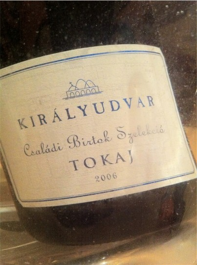 Királyudvar - Csaladi Birtok Szelekcio - Tokaji - 2006