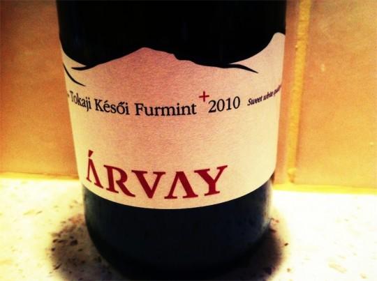 Árvay Tokaji Késői Furmint 2010 Late Harvest