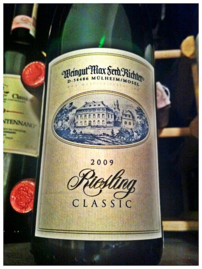 Weingut Max Ferd. Richter 2009 Mosel Classic Riesling