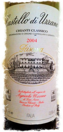 Castello di Uzzano DOCG Chianti Classico 2004 Riserva