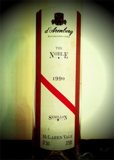 d'Arenberg The Noble 1999 Semillon Mclaren Vale
