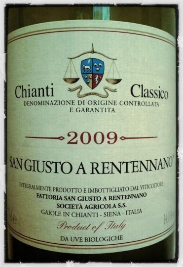 San Giusto a Rentennano 2009 DOCG Chianti Classico