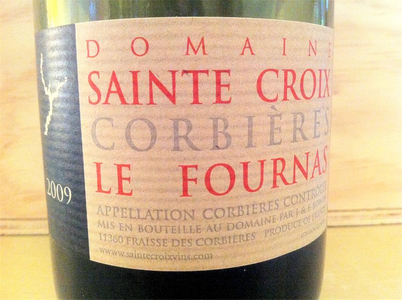 Domaine Sainte Croix Le Fournas 2009 Corbières