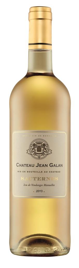 Chateau Jean Galan Sauternes 2013