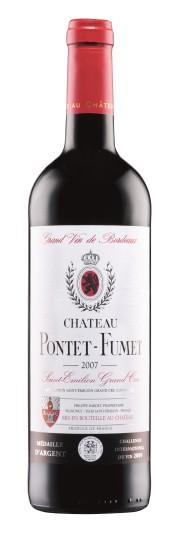 Chateau Pontet-Fumet Saint_Emilion Granc Cru 2007