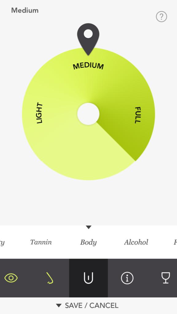 Tipple - aplikacja do oceniania win
