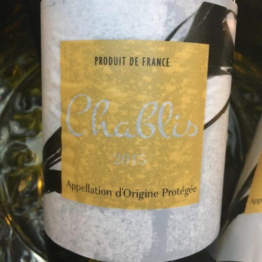 Chablis 2015 AOP Chablis