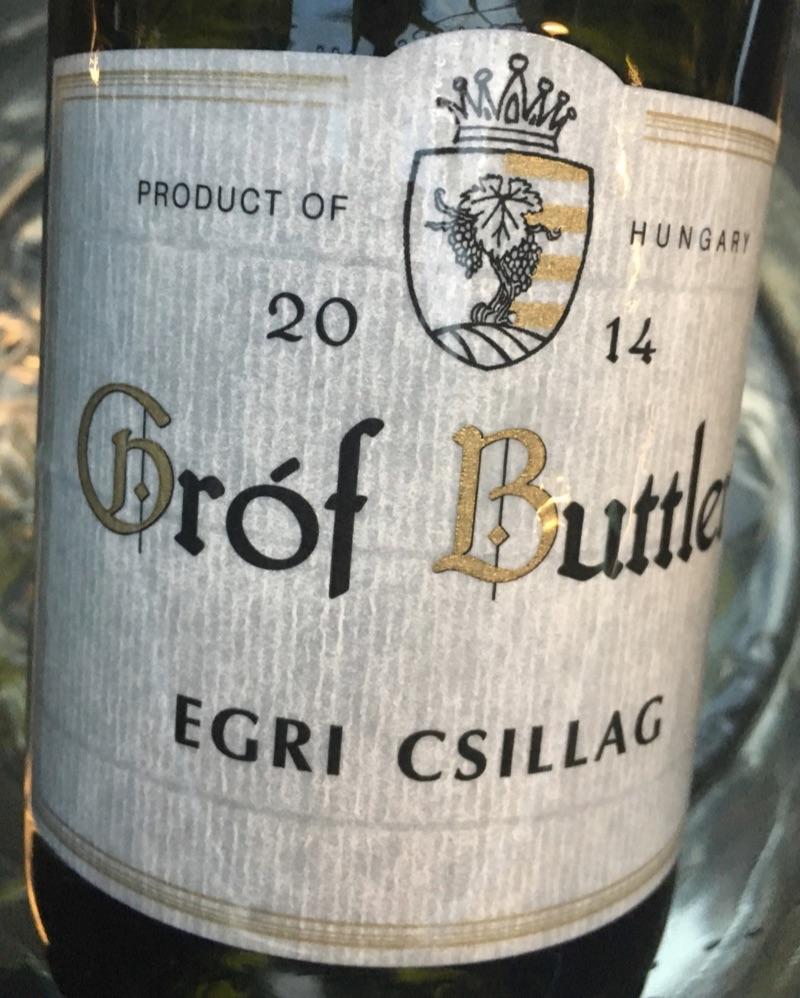 Egri Csillag, Gróf Buttler 2014