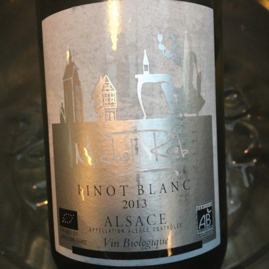 Michel Reeb, Pinot Blanc 2013, AOP Alsace