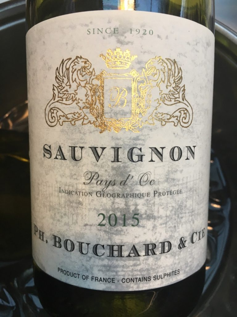 Ph. Bouchard & Cie, Sauvignon Blanc 2015, IGP Pays d'Oc