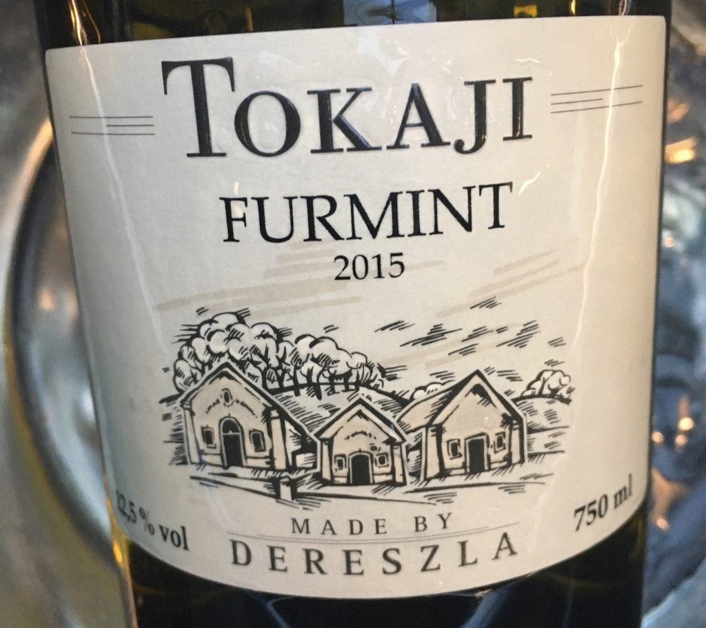 Tokaji Furmint, Made by Dereszla 2015