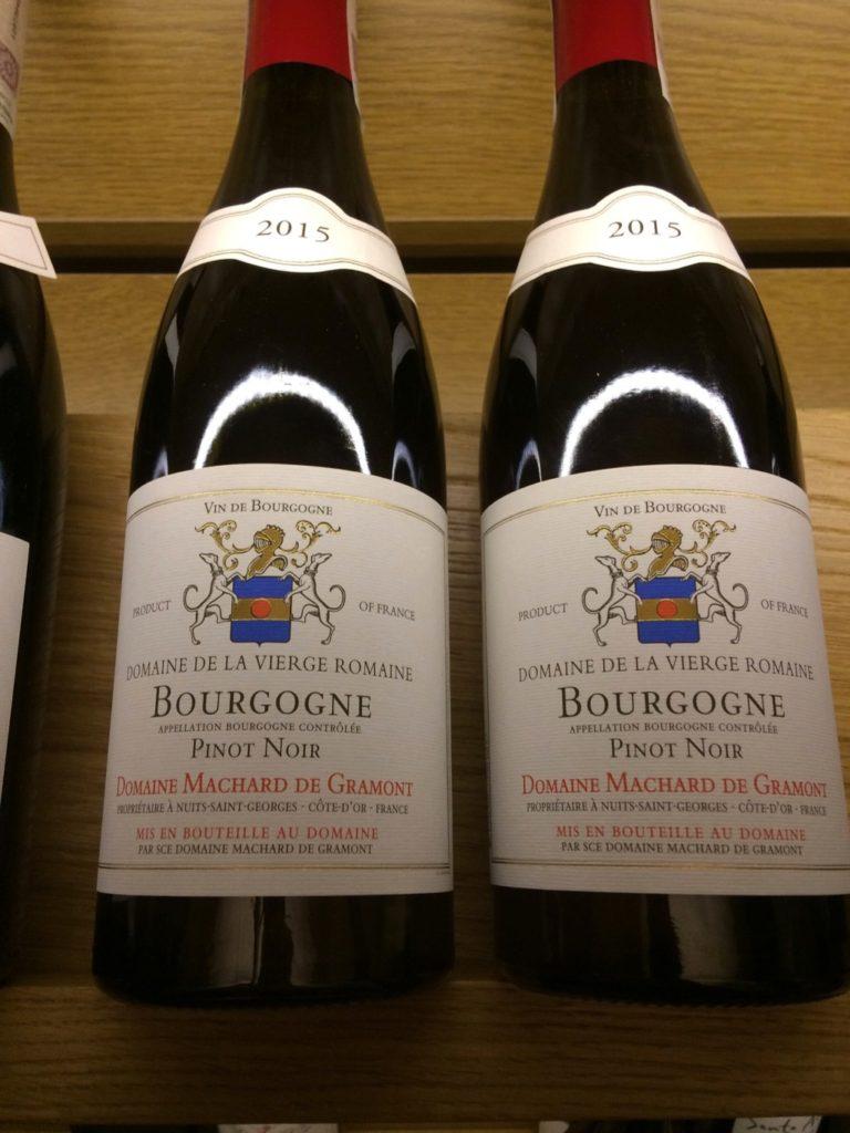 Domaine Machard de Garmont Bourgogne Pinot Noir 2015